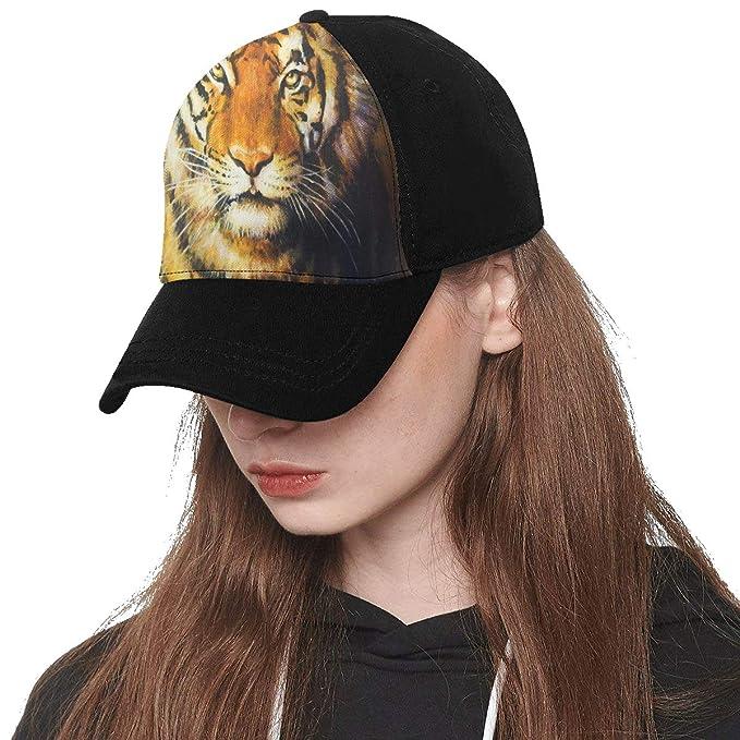 Amazon.com: Panel frontal personalizado Tiger pintura al ...