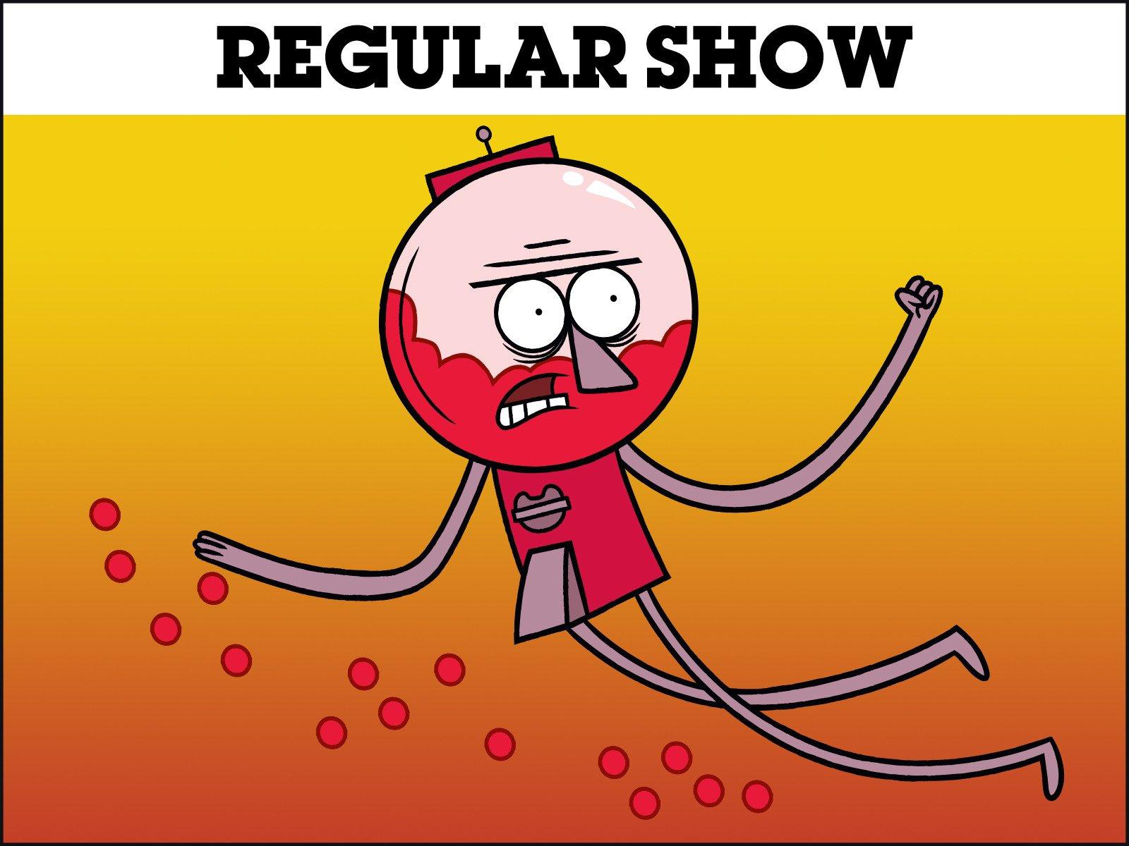 The Power from Regular Show : vectorart