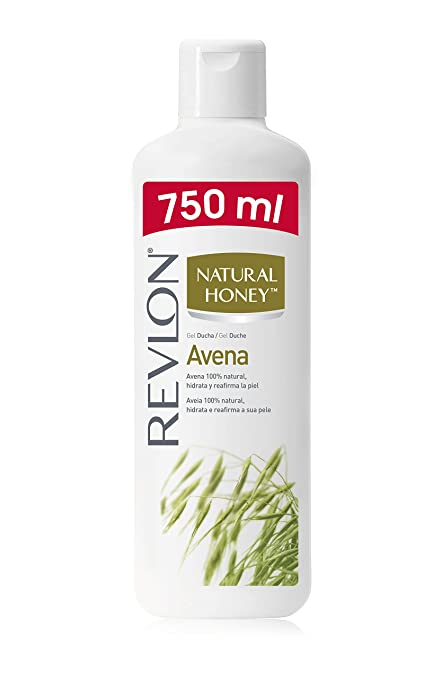 Natural Honey Gel de Ducha Avena - 0,75 l