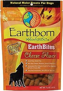 Earthborn Holistic EarthBites Cheese Flavor Grain-Free Moist Treats for Dogs