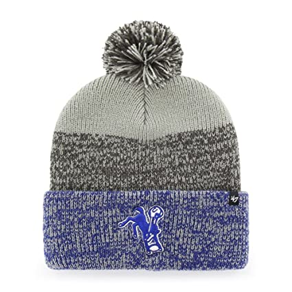 Image Unavailable. Image not available for. Color   47 Indianapolis Colts Beanie  Static Cuff ... 5b3574e9b