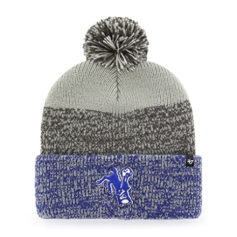 bdad6cc9 Amazon.com : '47 Indianapolis Colts Beanie Static Cuff Knit Hat ...