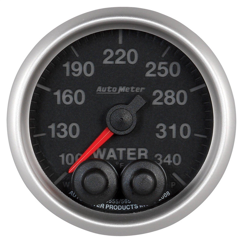 Auto Meter 5655 Elite 2-1/16'' 100-340 Degree Fahrenheit Water Temperature Gauge by Auto Meter (Image #2)
