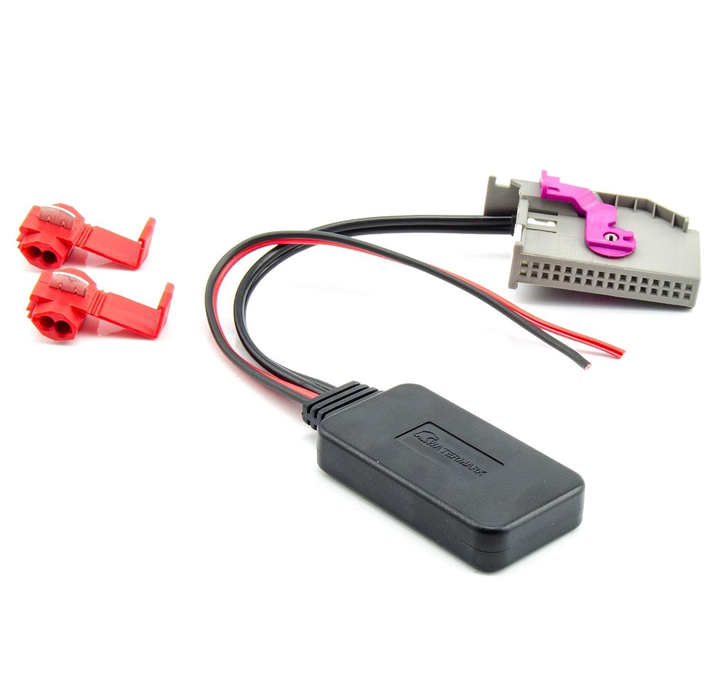 Watermark WM-BT43 Adaptateur Bluetooth AUX Audi RNS-E A3 A4 A6 A8 TT Navi Radio MP3