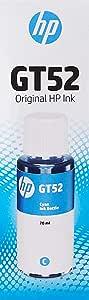 HP GT52 Cyan Original Ink Cartridge (M0H54AE)