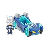 Giochi Preziosi Super Pigiamini Pj Masks Veicolo Turbo Blast, con Personaggio Gattoboy