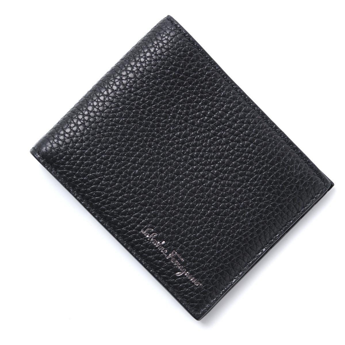 (サルバトーレフェラガモ) Salvatore Ferragamo 二つ折り 財布 [並行輸入品] B07CSKRZF8  Nero Free