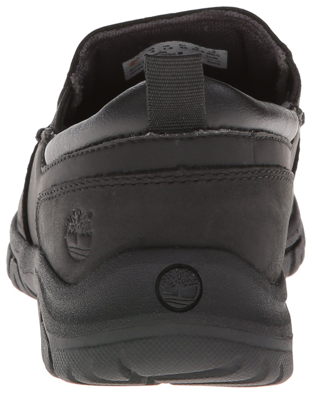 Timberland Discovery Pass Moc Toe Moc Toe Slip-On (Toddler/Little Kid/Big Kid),Black,9.5 M US Toddler by Timberland (Image #2)