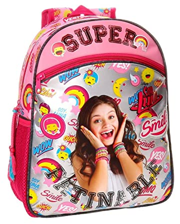 Disney Soy Lunasmile Kids Backpack, 33 cm, 9.8 liters, Multicolor (Multicolor)