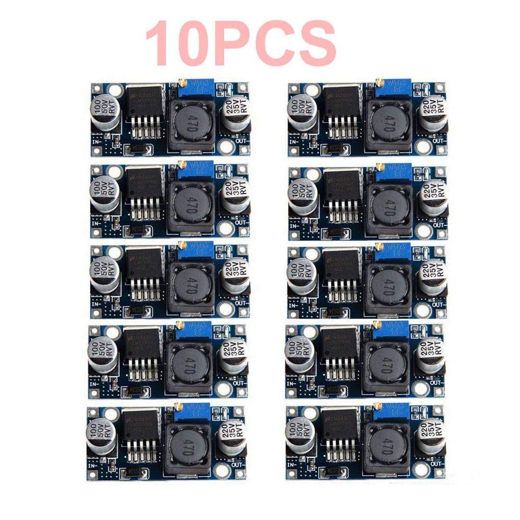 Morza 10Pcs LM2596S DC-DC Step-Down Power Module BUCK 3A Adjustable Buck Regulator Super LM2576 Converter