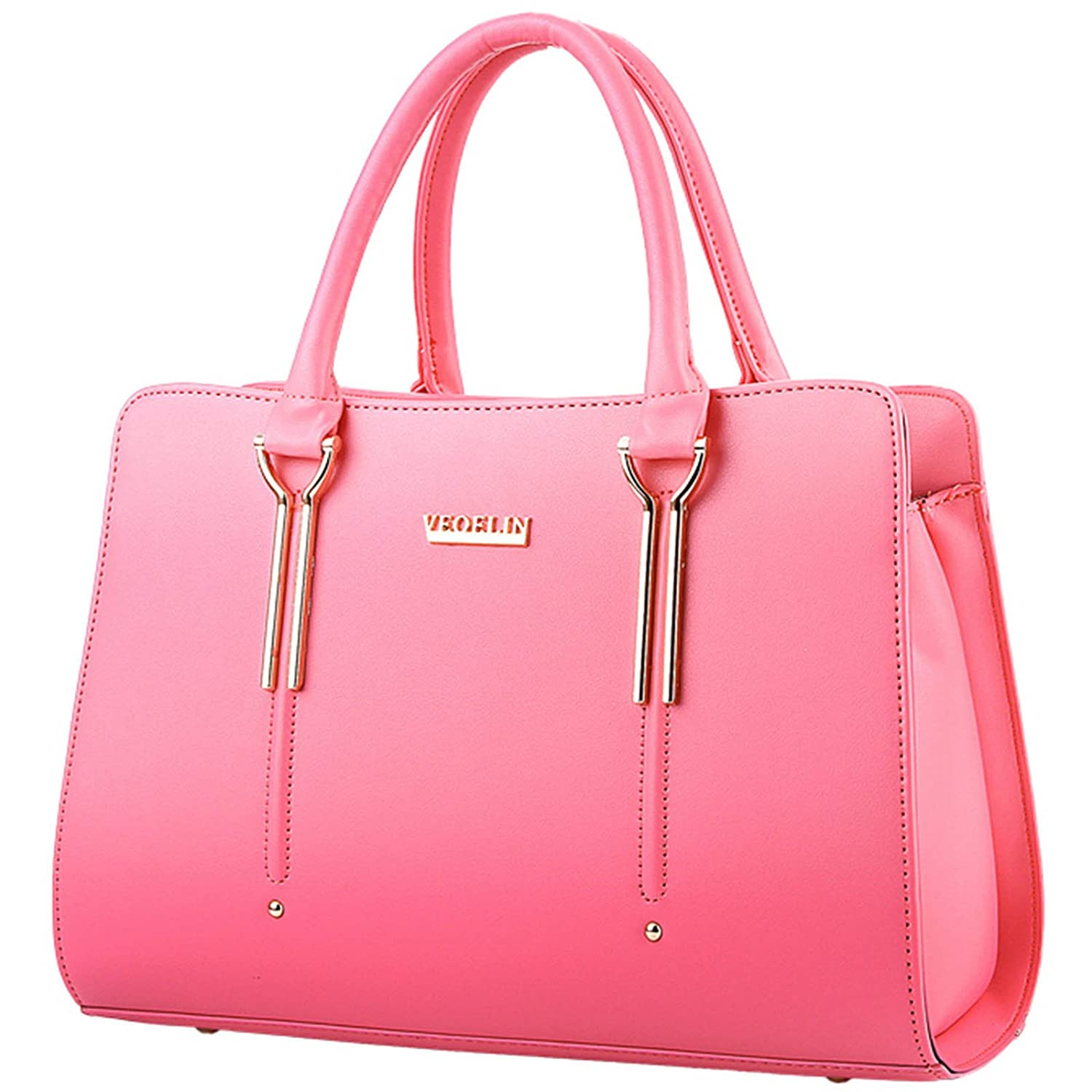 Girl Lady Women's Pu Leather Large Roomy Multifunctional Tote Shoulder Bag