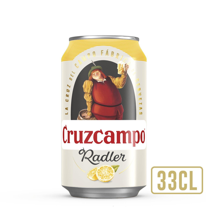 Cruzcampo Radler Limón Cerveza - Lata 330 ml