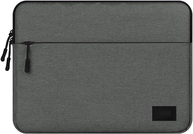 Topdo Estuche portátil para computadora portátil 14 Pulgadas Impermeable Funda para MacBook Air/MacBook Pro/Laptop/portátiles y netbooks 1 Pieza – Gris Oscuro: Amazon.es: Hogar