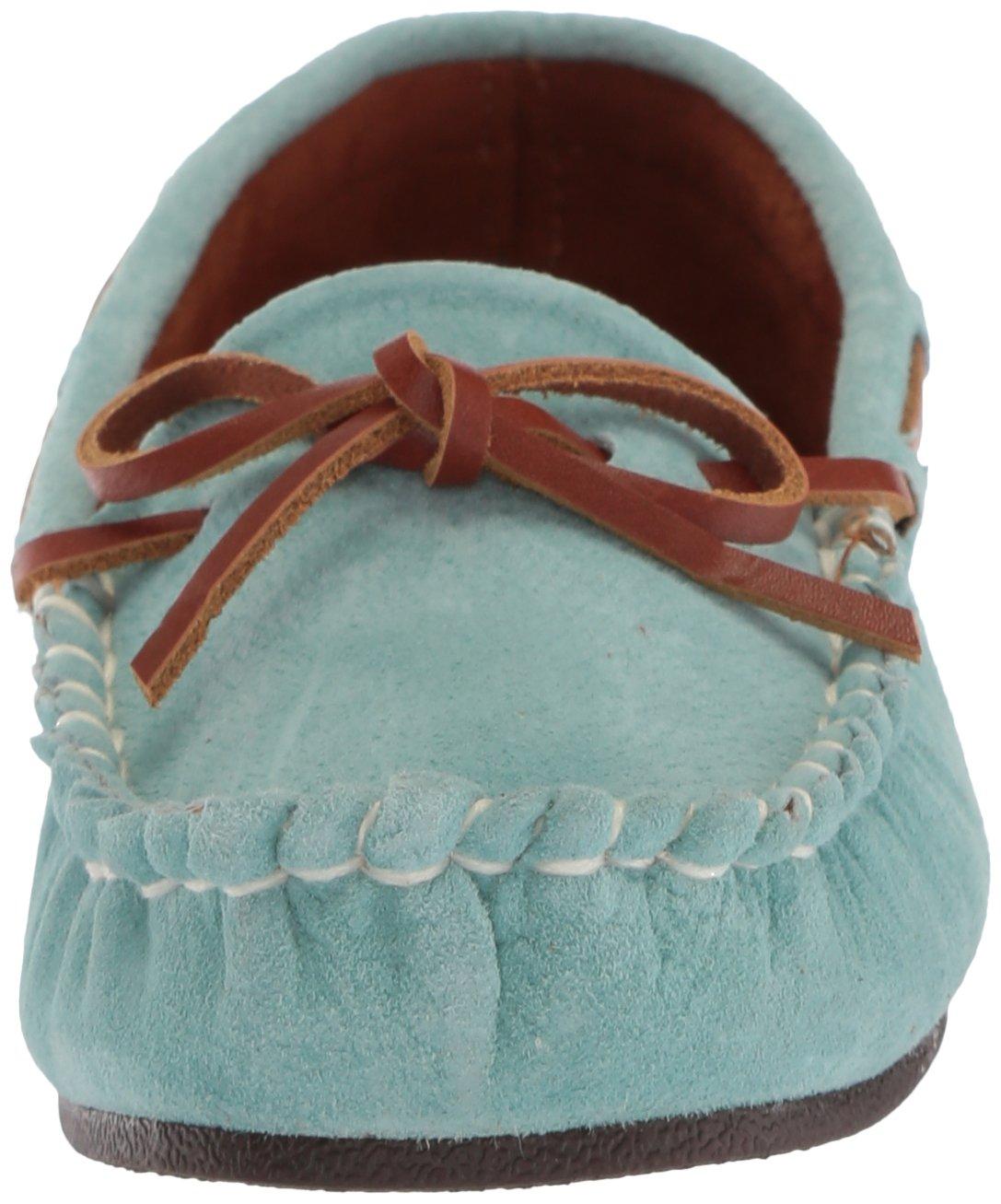 Lamo Women's Sabrina Moc II Shoe, Moccasin, Chestnut B01KMWTSYY 7.5 B(M) US|Mint