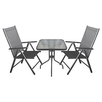 Amazon.de: Balkonmöbel Campingmöbel Gartenmöbel Terrassenmöbel Set 3 ...