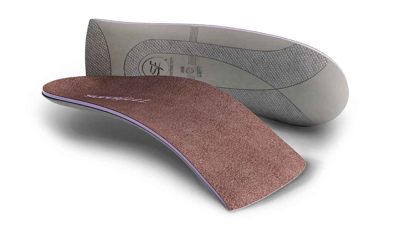 Superfeet Everyday High Heel Insole, Cocoa, D: 8.5-10 US Womens