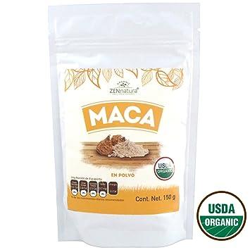 Pure Organic Maca Powder - ZENnatura Maca Organica En Polvo 150g