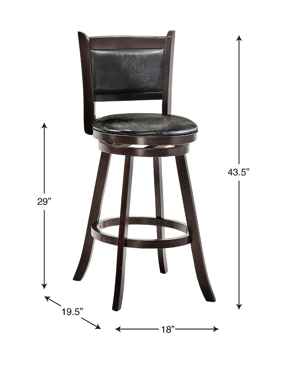 Terrific Amazon Com Belle Isle Furniture Charleston 29 Swivel Bar Beatyapartments Chair Design Images Beatyapartmentscom