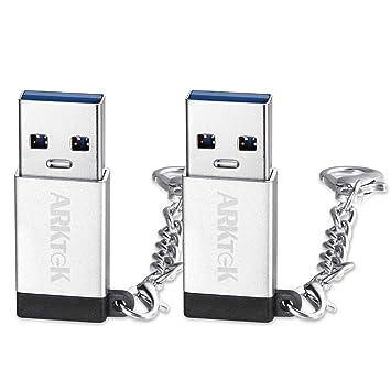 Adaptador USB-C USB A 3.0 (Macho) a USB Tipo C (Hembra) con ...