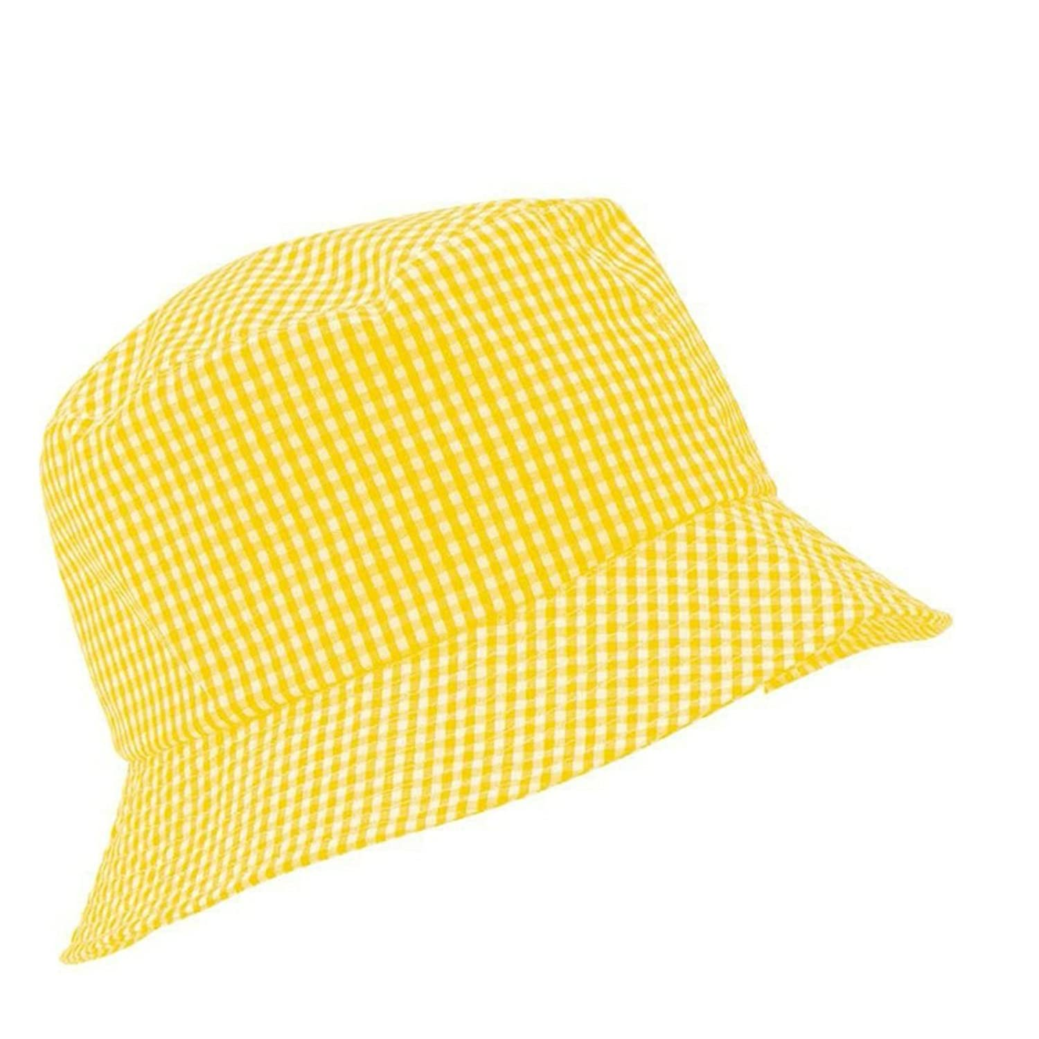 Sun Protection School Summer Kids Cotton Bucket Sun Hat Holidays Outdoors