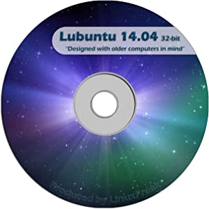 Lubuntu Linux 14.04 CD - FAST Desktop Live CD - Replace Windows XP - Official 32-bit Release