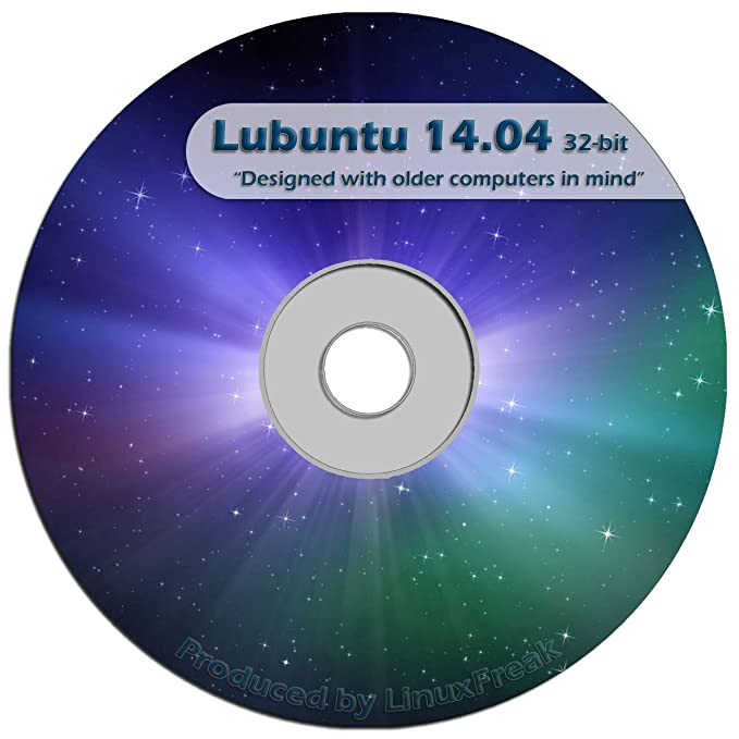 Lubuntu Linux 14 04 CD - FAST Desktop Live CD - Replace Windows XP -  Official 32-bit Release