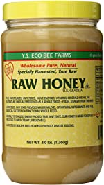 YS Eco Bee Farms RAW HONEY - Raw, Unfiltered, Unpasteurized -