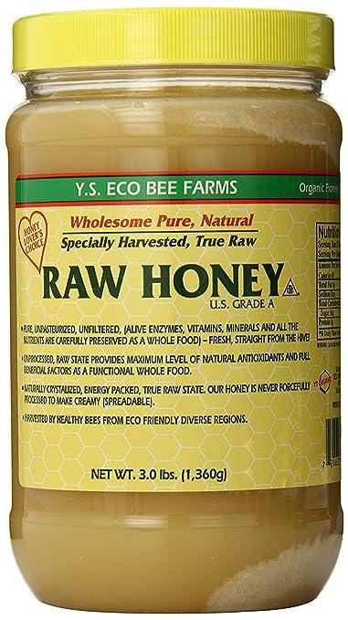 YS Eco Bee Farms Raw Honey
