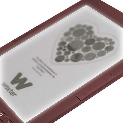 Woxter Scriba 195 Paperlight Red - Lector de Libros electrónicos ...
