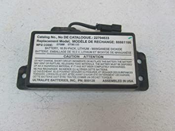 Amazon Com Morad Parts 08 09 Pontiac G8 G 8 Onstar Battery Oem Factory On Star Gm Module 22704633 Automotive
