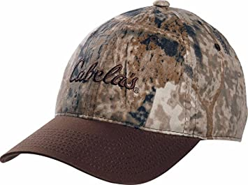 b80363659b6 Image Unavailable. Image not available for. Colour  New With Tags! Cabela s  Zonz Woodland Camouflage Adjustable Velcro Back Camo Cap