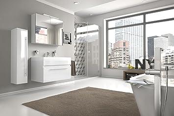 Bad11®   Badmöbelset LAZZARO 3 Teilig 80 Cm, Bad Möbel Set Mit Waschplatz