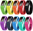 For Garmin Vivofit Bands, SnowCinda Fitness Replacement Bands for Garmin Vivofit Small Large Kids Men Women
