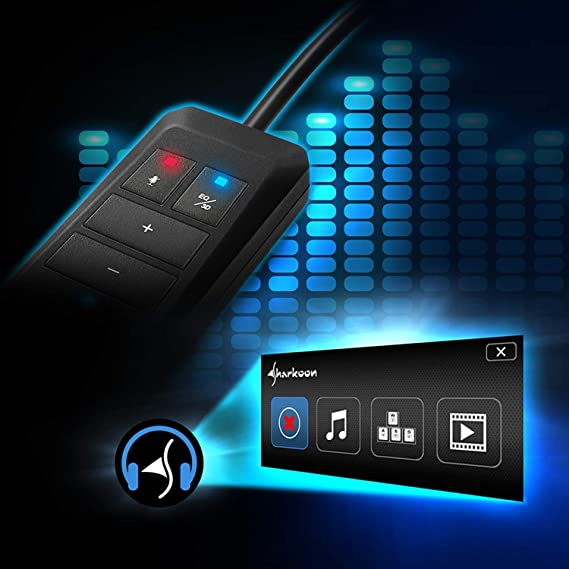 Sharkoon SB1 USB Tarjeta de sonido USB, 3,5 mm, 0,15 m, Negro, Windows 10,Windows 7,Windows 8, 20 g