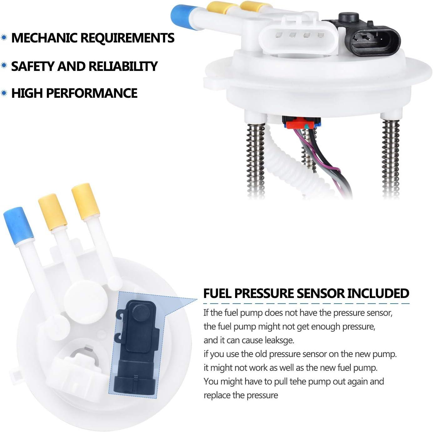 Bosch 67421 Fuel Pump For 2002-2003 Chevrolet S10 Electric w// Sending Unit