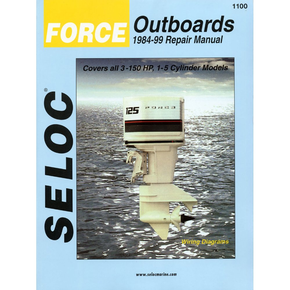 Amazon.com : SELOC Seloc Serivice Manual Force Outboards - All Engines -  1984-99 / 1100 / : Computer Monitors : Sports & Outdoors