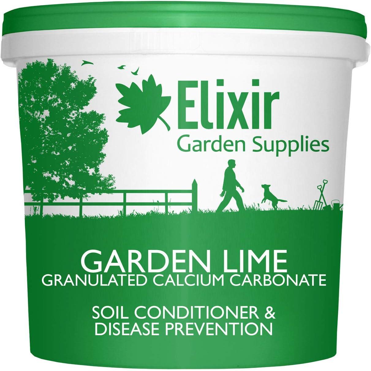 Bolsa de cal granulada de piedra caliza para agricultura de jardín con calcio y magnesio: Amazon.es: Jardín