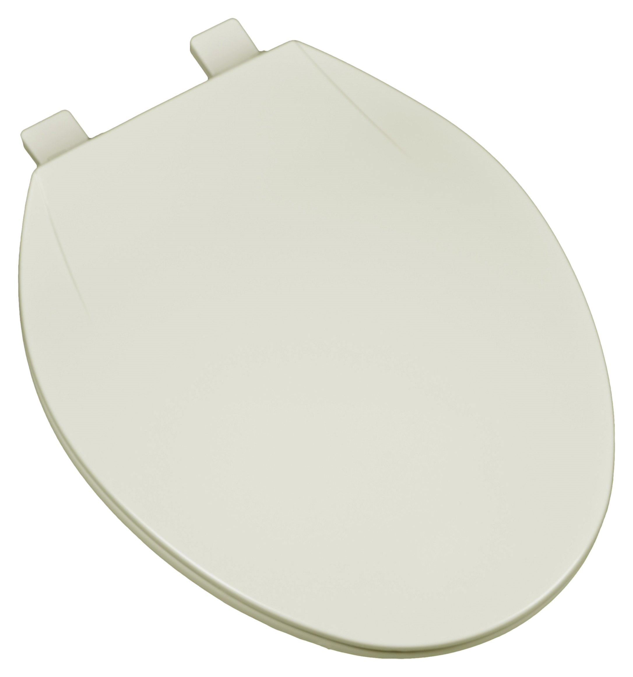 Bath Décor 2F1E4-02 Deluxe Plastic Elongated Toilet Seat with Adjustable Hinge