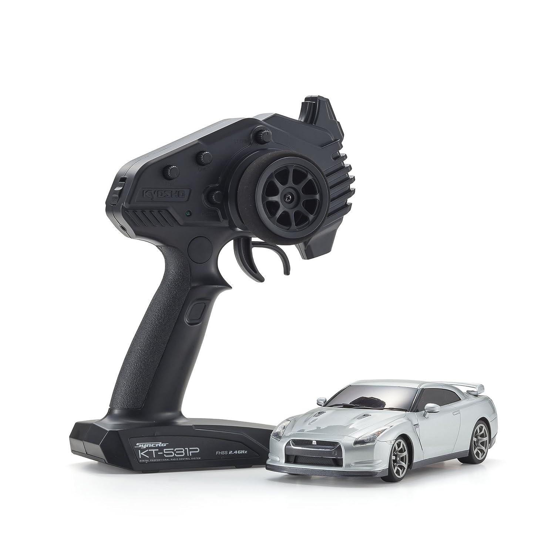 ラジオコントロール 電動ツーリングカー ミニッツRWDシリーズ レディセット 日産 GT-R (R35) アルティメイトメタルシルバー 32331S B075DBYW4V