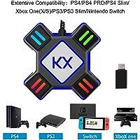 GZW-Shop Convertidor de Teclado y ratón, Adaptador KX