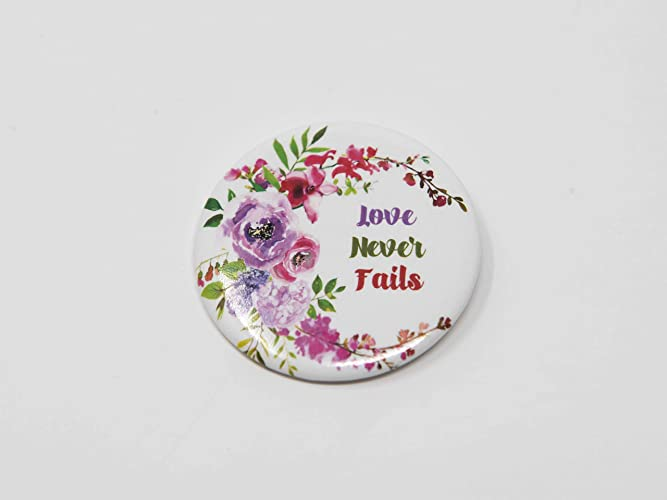 Love Never Fails 2019 Convention Button Pins JW Products in