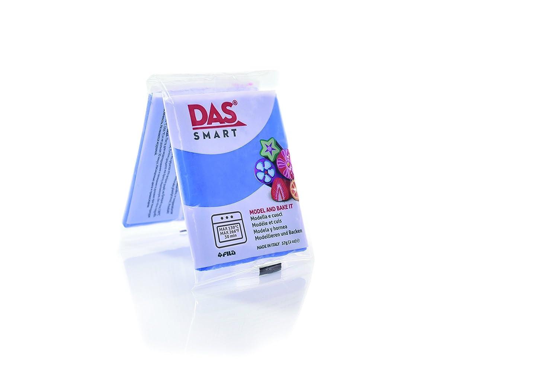 9 x 5,8 x 1,4 cm Beige Das Smart Pack de 6 Pastillas de Pasta para modelar 6 Unidades