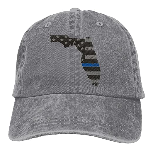 meet b7abd 1f5d4 ... real mnbhat thin blue line flag florida state snapback cotton hat ash  1fecc 65bc5