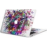 MacBook Air 13inch A1466 / A1369 専用スキンシール 2010~2017モデルまで対応 マックブック エア Mac Air 13インチ ノートブック フィルム ステッカー アクセサリー 保護 012273 ペイント カラフル 鳥