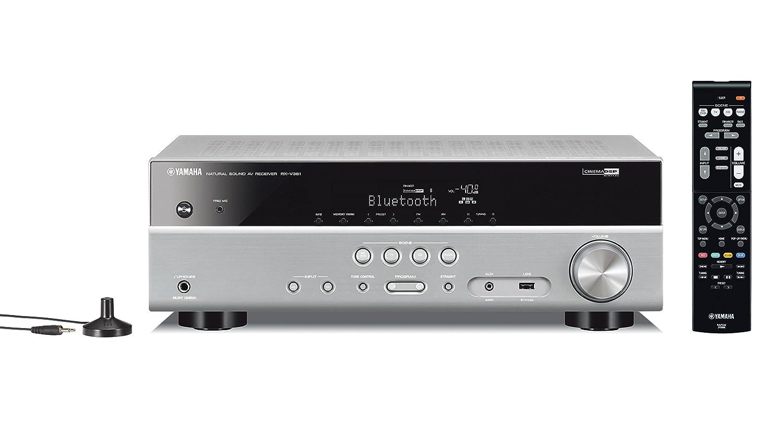 Yamaha RX-V381 - Receptor AV 5.1 (HDMI, USB, Bluetooth, 4K), Color ...