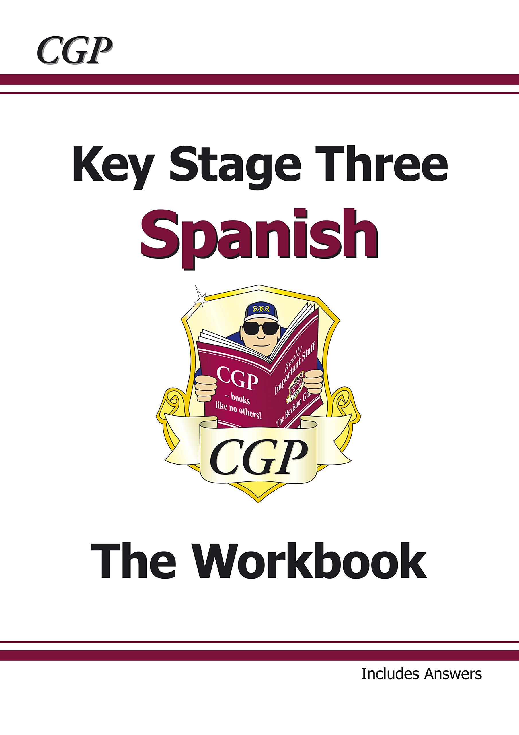 Ks3 Spanish Workbook With Answers CGP Books