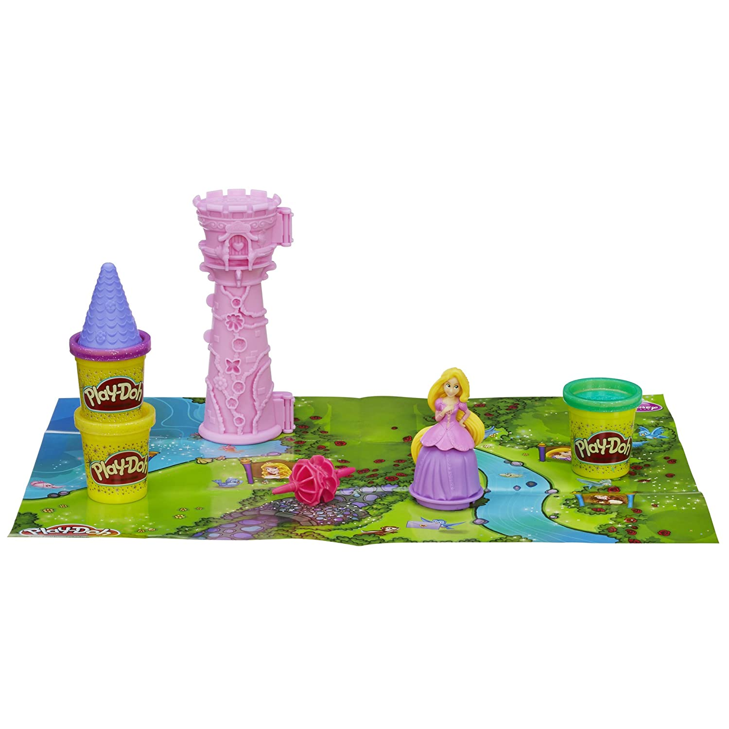 Play Doh Disney Princess Rapunzel's Tower