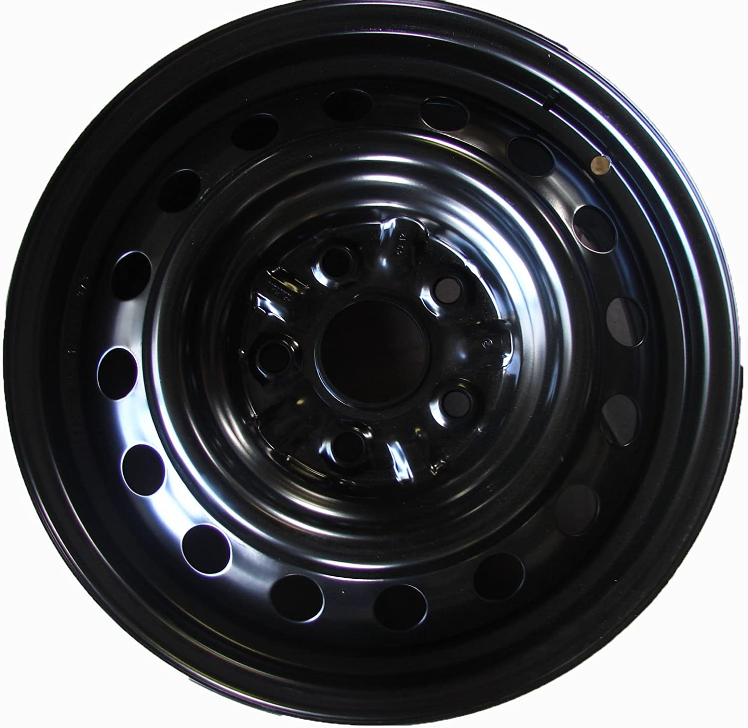 Exact OEM Replacement Road Ready Car Wheel For 1995-2004 Toyota Avalon 1992-2001 Toyota Camry Lexus ES300 1999-2003 Toyota Solara 15 Inch 5 Lug Black Steel Rim Fits R15 Tire Full-Size Spare