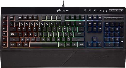 Corsair K55 RGB Gaming Keyboard – IP42 Dust and Water...