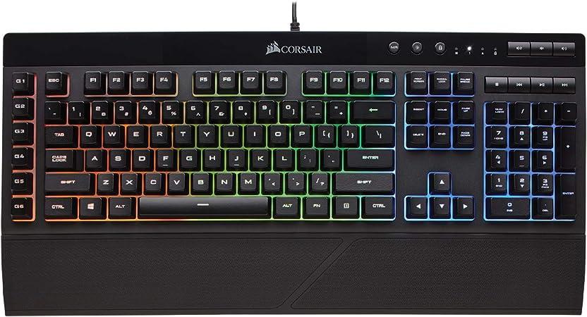 Corsair K55 Rgb Gaming Tastatur Ip42 Staub Und Computer Zubehör